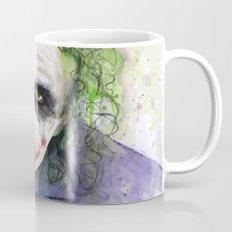 The Joker Watercolor Mug