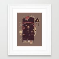 play Framed Art Prints featuring Play! by Hector Mansilla