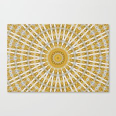 Kaleidoscope Chips in Paper Pattern Canvas Print