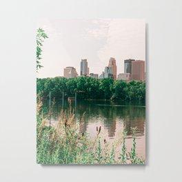 Minneapolis Skyline Metal Print