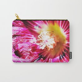 Musk Mallow Carry-All Pouch