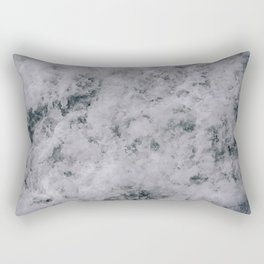 Stormy Seas II Rectangular Pillow