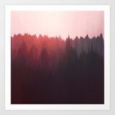 Sun Glare Art Print