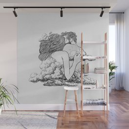 Above the clouds. Wall Mural