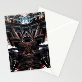 palais de justice bruxelles roschach symmetry Stationery Cards