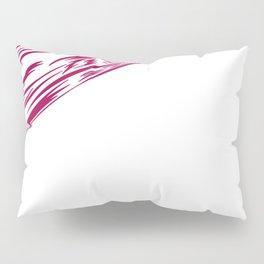 Wild cherry lines, ethnic  Red Pillow Sham