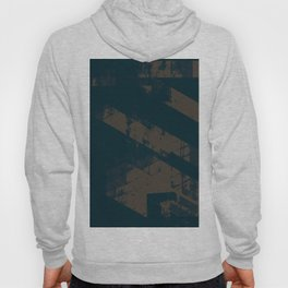 Abstract_Blue Hoody