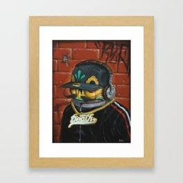 Death Bling. Framed Art Print