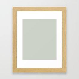 Gray Grey Sea Salt Framed Art Print