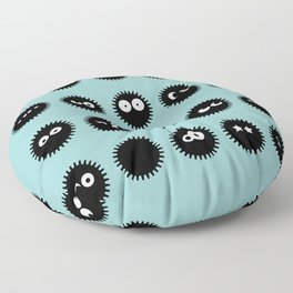 Spirited Away Soot sprites Floor Pillow