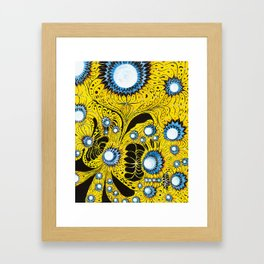 Indifinite Intersection of Emotion Framed Art Print