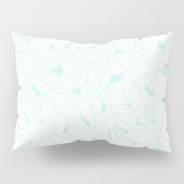 Leaves in Ice Pillow Sham