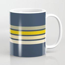 Racing Retro Stripes Coffee Mug