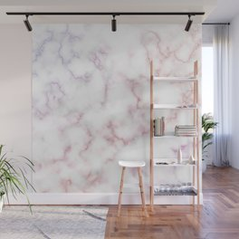 Pattern of red and blue marble Wall Mural