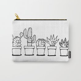 The Succulents Carry-All Pouch