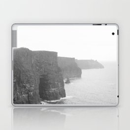 Cliffs of Moher B&W Laptop & iPad Skin