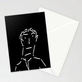 Dashing Man Stationery Cards