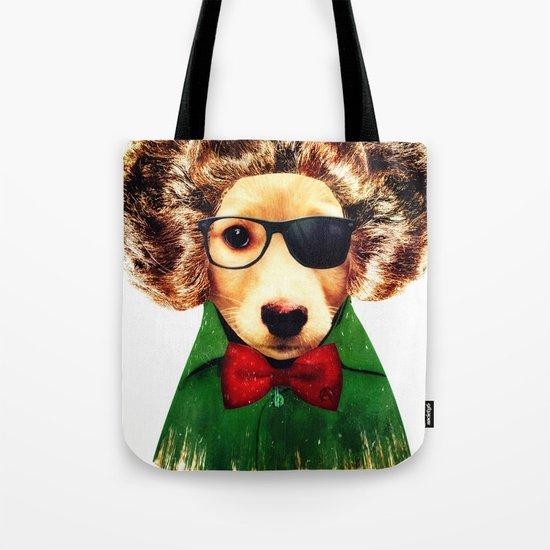 Dog ( Ben) Tote Bag