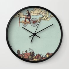 Steam FLY Wall Clock