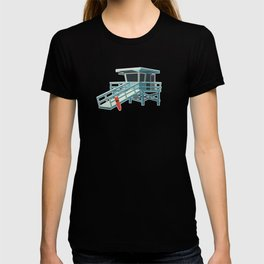 California Lifeguard Tower T-shirt