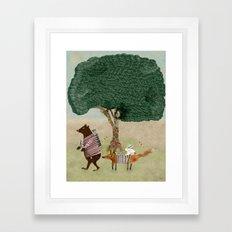 summers adventure Framed Art Print