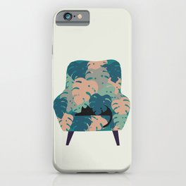 Cat and Plant 15 iPhone Case
