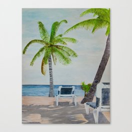 Day At The Beach Canvas Print