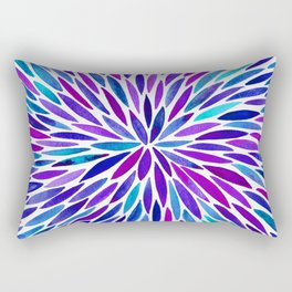 Lavender Burst Rectangular Pillow