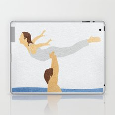 Dirty Dancing Alternative Minimalist Movie Poster Laptop & iPad Skin