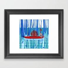 January Framed Art Print