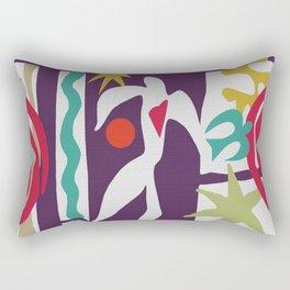 Inspired to Matisse (violet) Rectangular Pillow