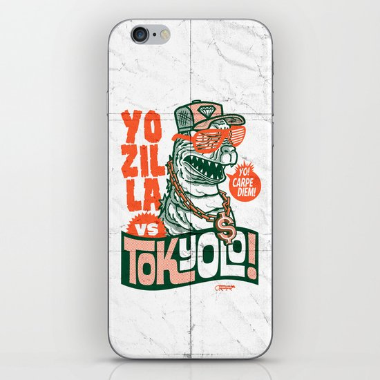 Tokyolo (YOZILLA variant) iPhone & iPod Skin