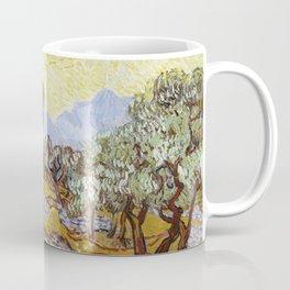 Olive Trees by Vincent van Gogh Coffee Mug