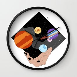 Space Mage Wall Clock