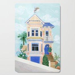 Little Victorian House Cutting Board