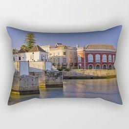 Tavira old town panoramic Rectangular Pillow