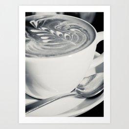 Coffee Art I Art Print