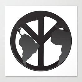 World Peace Canvas Print