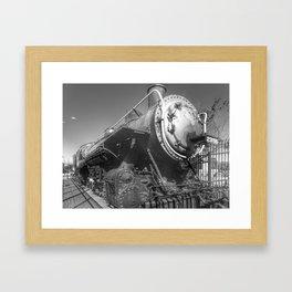 Stem Locomotive Framed Art Print