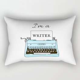 I'm A Writer Rectangular Pillow