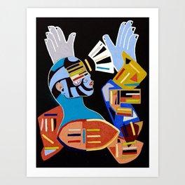 Building Belief Art Print