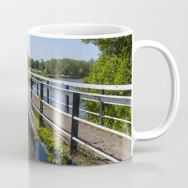 Approaching Alrewas Coffee Mug