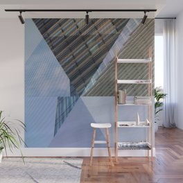 Abstract Architectural Geometric Designs Wall Mural