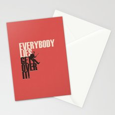 Everybody Lies Stationery Cards