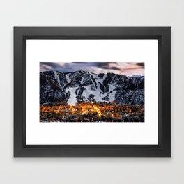 Aspen Skyline Framed Art Print