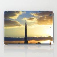 wiz khalifa iPad Cases featuring dubai by muz92