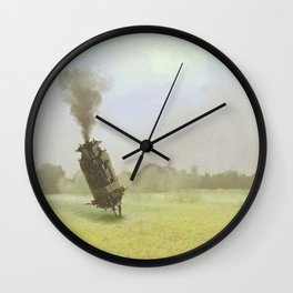 FIELD WORK Wall Clock