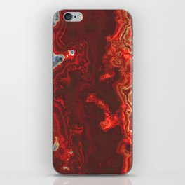 Onyx stone iPhone Skin