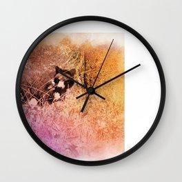 Unexpected Hues Wall Clock