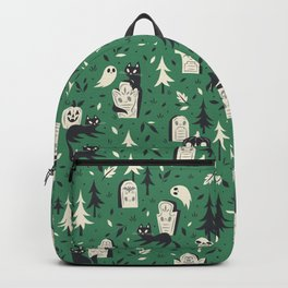 Cemetery Cuties (Green) Backpack